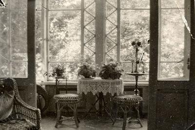 Buvusio Markučių dvaro sodybos gyvenamojo namo verandos interjeras