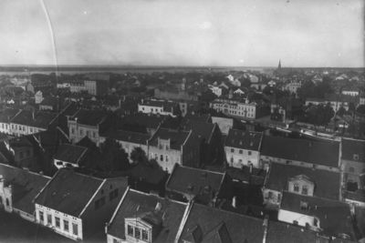Klaipėdos panorama iš Šv. Jono bažnyčios bokšto