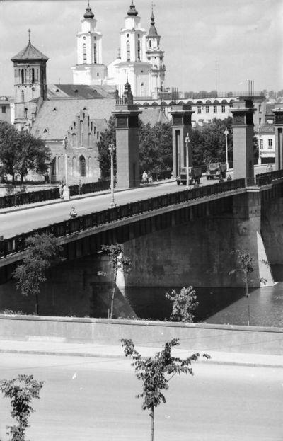 Kaunas. Senamiesčio vaizdas