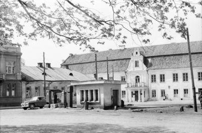 Kaunas. Senamiestis. Degalinė