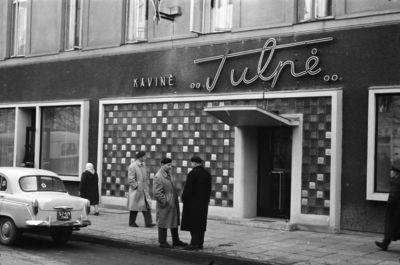 Kaunas. Kavinė Tulpė po rekonstrukcijos