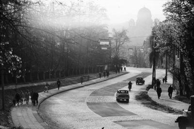 Kaunas. Gagarino gatvės vaizdas