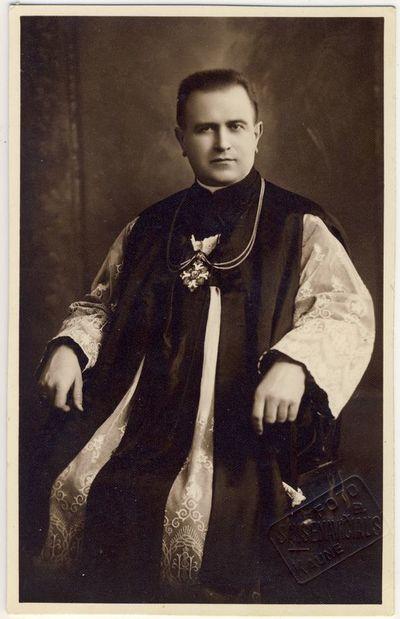 Kauno kunigų seminarijos vicerektorius Pranciškus Penkauskas