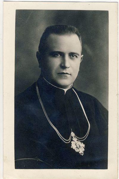 Kauno kunigų seminarijos rektorius Pranciškus Penkauskas