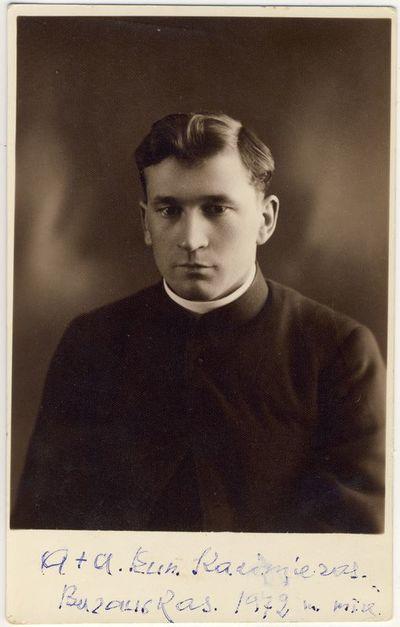 Kunigas Kazimieras Barauskas