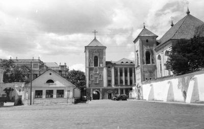 Kaunas. Senamiestis. Švč. Trejybės (Seminarijos) bažnyčia
