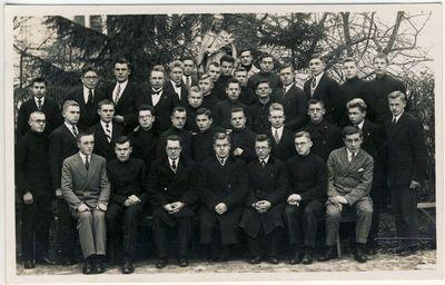 Kauno kunigų seminarijos klierikai