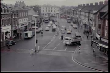 Traffic Observation Films: King Street/Cross Deep, Twickenham