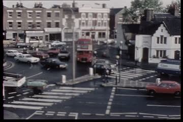 Traffic Observation Film: Richmond Circus A316 (W) and Kew Roads (S)