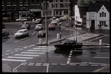 Traffic Observation Film: Richmond Circus Kew Rd (N) and A316 (E)