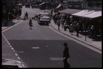 Traffic Observation Films: George St. Richmond