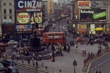 Piccadilly Circus Time-lapse