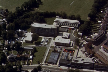 Southgate Tech From the Air