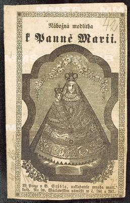 Nábožná modlitba k Panně Marii