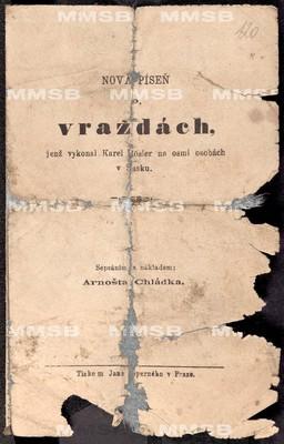 Nová píseň o vraždách, jenž vykonal Karel Rösler na osmi osobách v Sasku