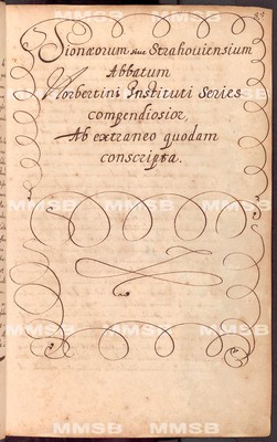 Annales Strahovienses, tomus I. (1140-1669)