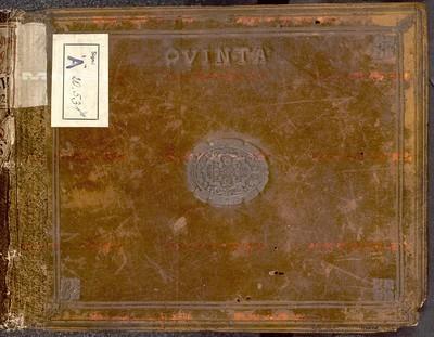 Sborníky vokální polyfonie - Quinta Vox