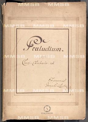 Praeludium per Clavi-Cembalo