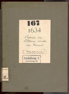Copia di lettera scritta da Viena li 2. Marzo 1634