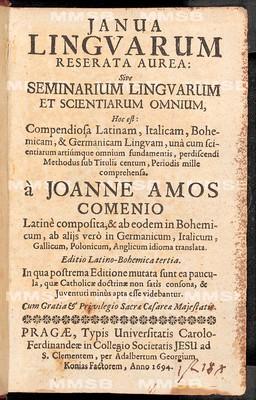 Janua linguarum reserata aurea