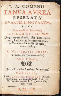 Janua linguarum reserata aurea duarum linguarum