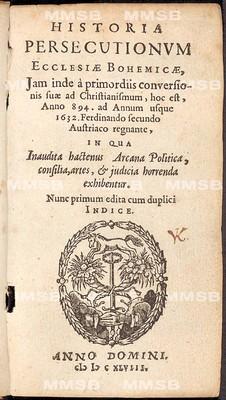 Historia persecutionum Ecclesiae Bohemicae
