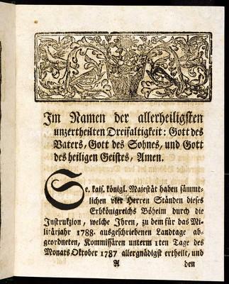 Artikeln des allgemeinen Landtagsschlusses, welche ... den 16ten Tag des Monats Oktober 1787 ... vorgetragen, sodann ... beschlossen, und den 22ten Dezember 1789 publiziret worden sind