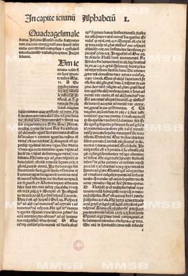 Quadragesimale Gritsch vna cu[m] registro sermonu[m] de tempore [et] de sanctis per circulu[m] a[n]ni in fine libri co[n]te[n]to