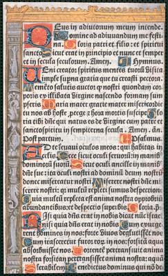 [Horae ?, breviarium ?]