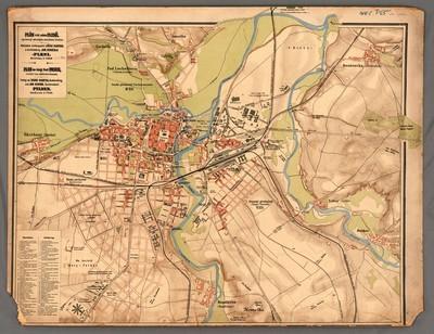 Plán král. města Plzně, upravený městským stavebním úřadem