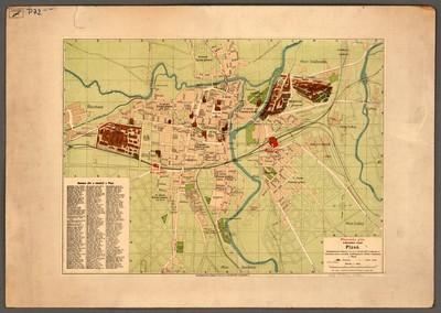 Pharusův plán královského města Plzně