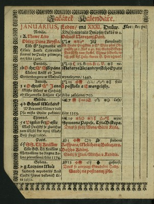 Kalendář