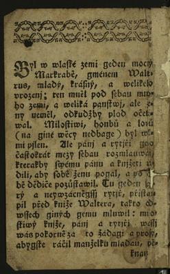 Kroniky dvě - Kriselda, Lukrécie