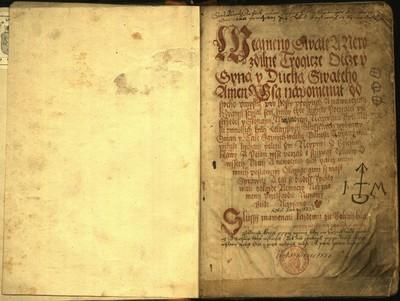 Lékařský sborník. XVI. stol.