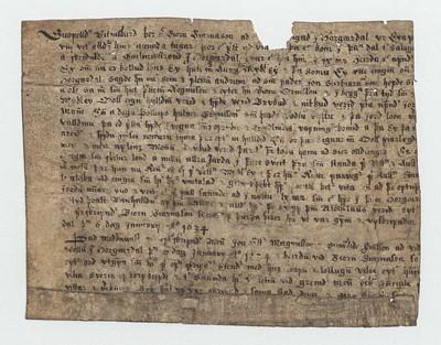 Vitnisburður, 6. janúar 1634