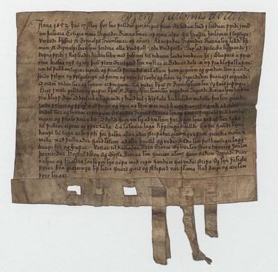 Kaupbréf, 17. maí 1652