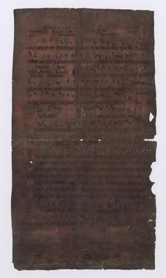 Missale (de sanctis), 1400-1499