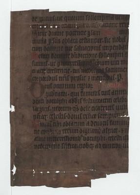 Collectarium (de sanctis). Messubænir, 1300-1399