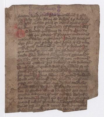 Úr latínuriti guðrækilegs efnis, 1390-1410