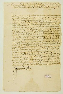 Zygmunt III' z Bożey łaski