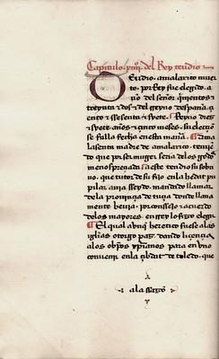 Esta es la Genealogía de los reyes d'España Alphonsi de Cartagena episcopi Burgensis regum Hispanorum Romanorum imperatorum summorum pontificum nec non regum Francor[um], : Anacaephaleosis / [trad. por Juan de Villafuerte]