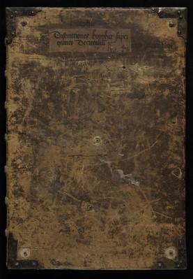Distinctiones in Librum IV Decretalium Gregorii IX