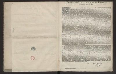 Coelestis doctrine Studiosis & Literarie Iuuentuti: Sal.in.Sal.