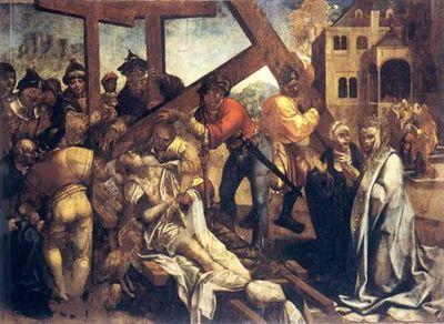 Milagre da Ressurreição do Mancebo / Painéis do retábulo-mor do Mosteiro de Santa Cruz, Coimbra
