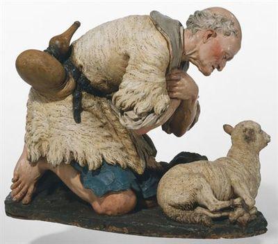 Pastor e ovelha
