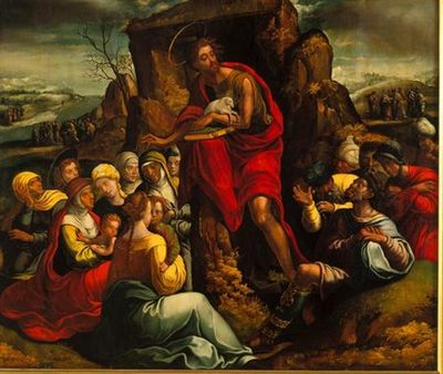 Pregação de São João Baptista