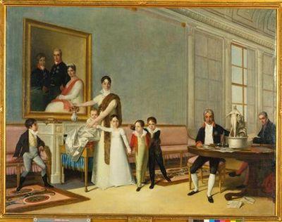 Retrato da Família do 1º Visconde de Santarém