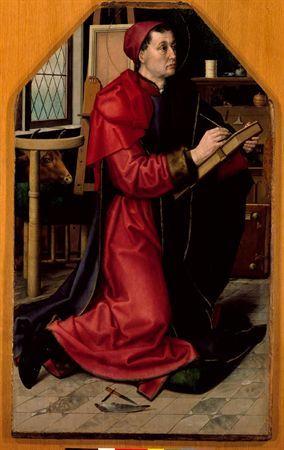 São Lucas retratando a Virgem