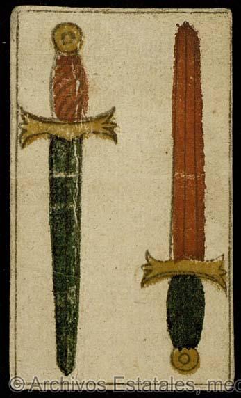 [Dos de espadas] [Material gráfico no proyectable]