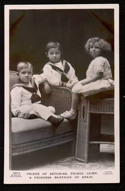 Prince of Asturias, prince Jaime and princess Beatrice of Spain